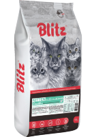 Blitz (Блиц) Sensitive Kitten All Breeds корм для котят
