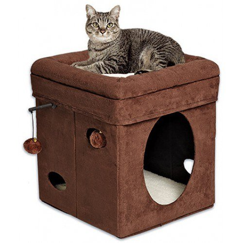 Мягкие домики для кошки